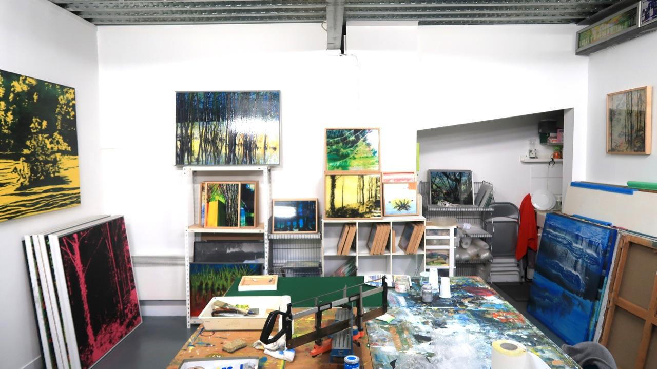Vue de l'atelier - octobre 2018